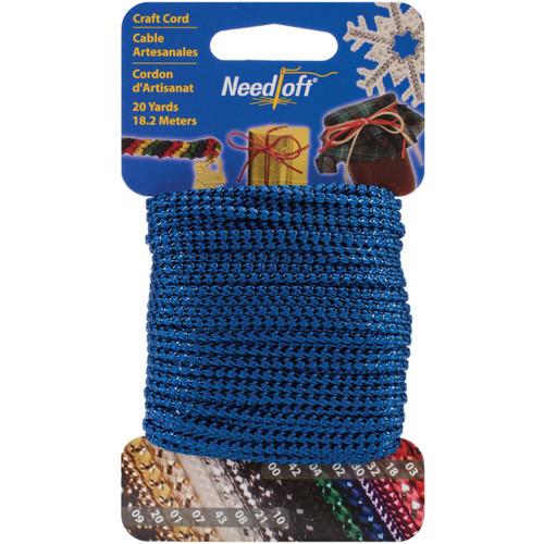 Cottage Mills Novelty Craft Cord 20yd-Metallic Blue -550-55002 - 723347550020