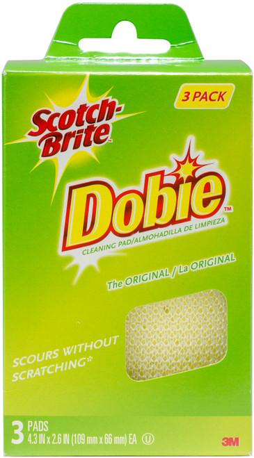 Scotch-Brite Dobie All-Purpose Cleaning Pad 3/Pkg-723-2F - 021200417566