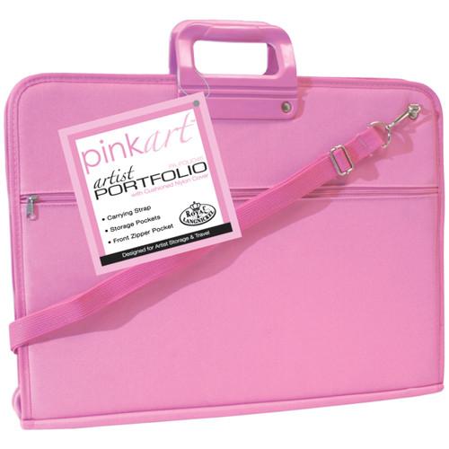 """Pink Art Artist Portfolio Case-14""""X18"""" -POLIO46 - 090672051271"""