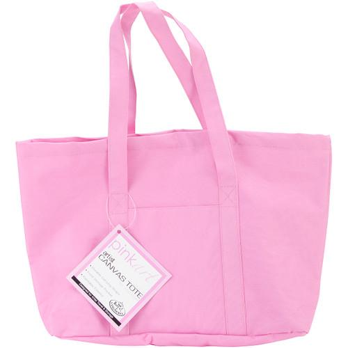 "Pink Art Artist Canvas Tote-17""X12"" -PATOTE - 090672051233"