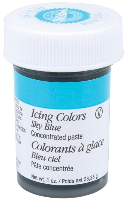 Icing Colors 1oz-Sky Blue -W610-700 - 070896067005