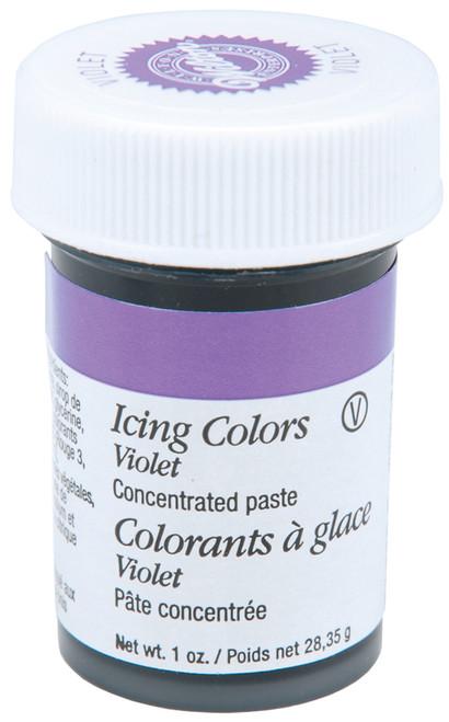 Icing Colors 1oz-Violet -W610-604 - 070896066046