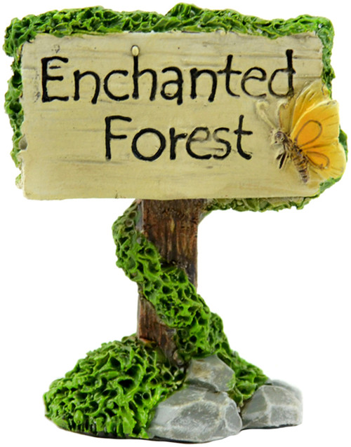 "Fairy Garden Enchanted Forest Sign-2.5"" -55612 - 684653556123"