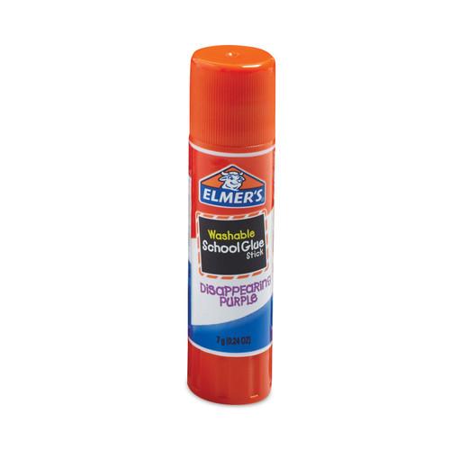Elmer's Washable School Glue Sticks Purple 4/Pkg-.24oz -E543 - 026000005432