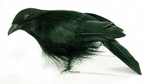 "Mushroom Bird 4""-Standing Crow -MD21719"