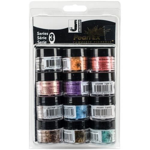Jacquard Pearl Ex Powdered Pigments 3g 12/Pkg-Series 3 -JAC0614 - 743772061403