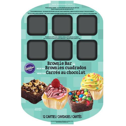 "Brownie Bar Pan-12 Cavity 15.75""X10.75"" -W0454 - 070896404541"