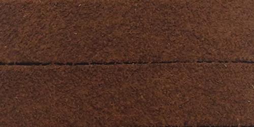 """Realeather Crafts Suede Strip 1.5""""X42""""-Medium Brown -SS15042-2002"""