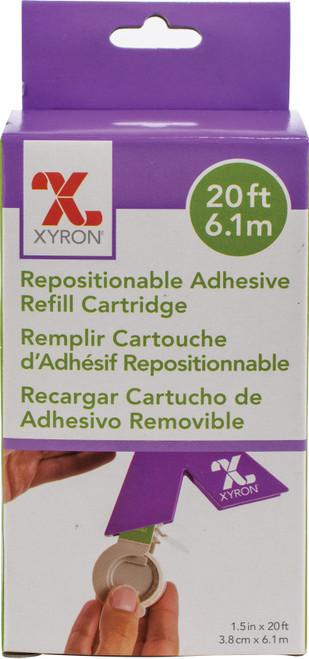 "Xyron XRN150 Refill Cartridge 1.5""x20'-Repositionable -AT156-20 - 608931000788"