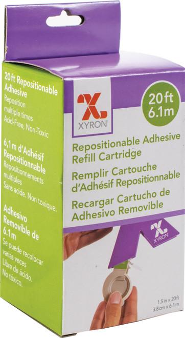 "Xyron XRN150 Refill Cartridge 1.5""x20'-Repositionable -AT156-20"