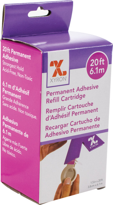 "Xyron 150 Refill Cartridge-1.5""X20' Permanent -AT155-20"