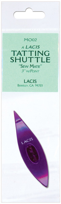 Lacis Sew Mate Tatting Shuttle Pointed Tip-Purple -MO02-PURPL - 824649005437