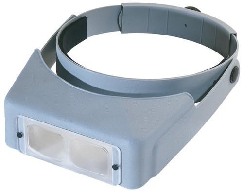 "Donegan OptiVISOR LX Binocular Magnifier-Lensplate #4 Magnifies 2x At 10"" -LX4"