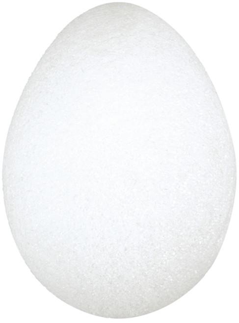 """Styrofoam Eggs 6/Pkg-2.5""""X1.5"""" -EG25H"""