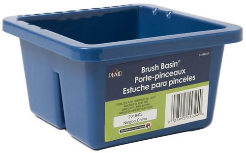 """Apple Barrel Brush Basin-8.5""""X6.5""""X3.5"""" -CS550324 - 028995553240"""
