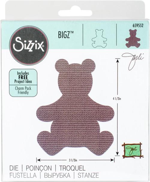Sizzix Bigz Dies Fabi Edition-Teddy Bear #4 By Jorli Perine -659552 - 841182084071