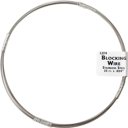 "Lacis Blocking Wire 25ft .24""-LJ24 - 824649008056"