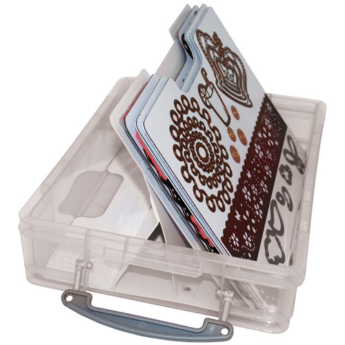 Zutter Handy Cling & Clear Stamp Storage System-7632 - 718122763245