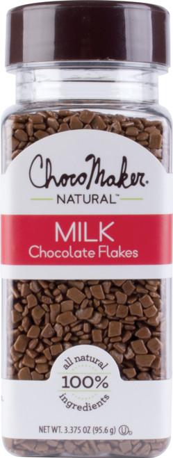 ChocoMaker(R) Natural Milk Chocoflakes 3.375oz-9128CMN - 879826001016