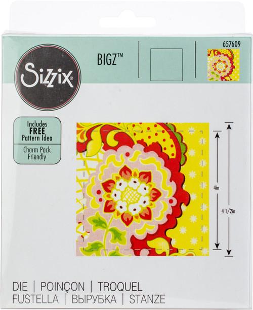 "Sizzix Bigz Dies Fabi Edition-Square 4"" Finished -657609 - 841182062093"