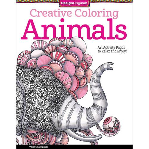 Design Originals-Creative Coloring Animals -DO-5506 - 0238630550629781574219715