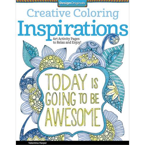 Design Originals-Creative Coloring Inspirations -DO-5507 - 0238630550799781574219722
