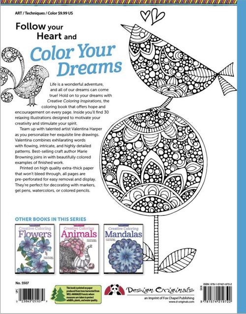 Design Originals-Creative Coloring Inspirations -DO-5507