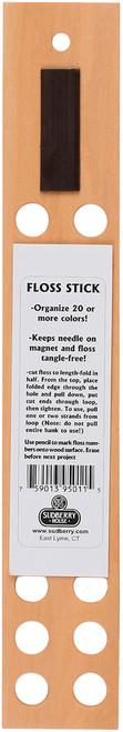 "Sudberry House Floss Stick Organizer-1.75""X11"" -95011 - 759013950115"