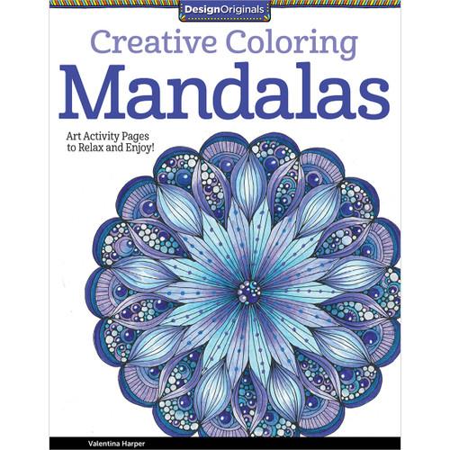 Design Originals-Creative Coloring: Mandalas -DO-5508 - 0238630550869781574219739