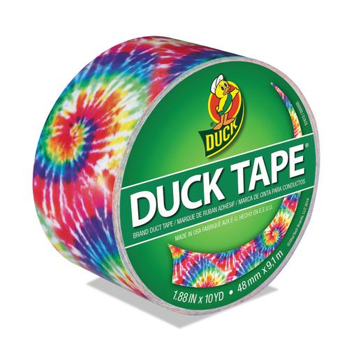 """Patterned Duck Tape 1.88""""X10yd-Love Tie-Dye -PDT-83268 - 075353352199"""