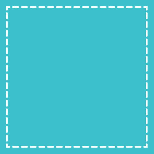 """Sizzix Bigz Dies Fabi Edition-L Die Square 4.5"""" Finished -657626"""