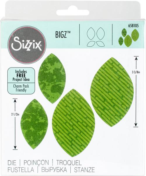 Sizzix Bigz Dies Fabi Edition-Leaves, Plain #2 By Rachael Bright -658105 - 841182067364