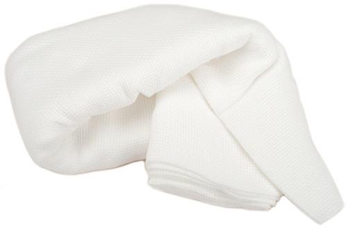 "Charles Craft Monk's Cloth Aida 7 Count 60""X2.5yd-White -HF4462-6750"