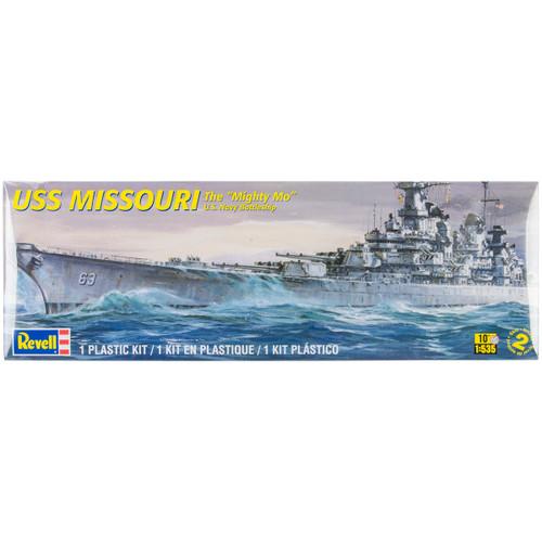 Plastic Model Kit-USS Missouri Battleship 1:535 -85-0301 - 031445003011