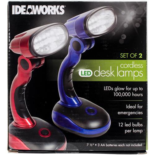 Frank A. Edmunds LED Desk Lamps-Red And Blue -JB6173 - 017874022199