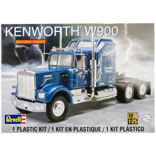 Plastic Model Kit-Kenworth W900 1:25 -85-1507 - 031445015076