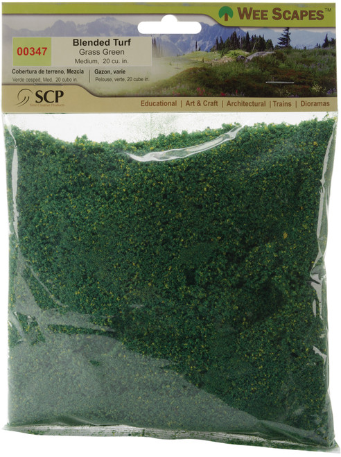 Blended Turf 20 Cubic Inches-Grass Green -00347 - 853412003479