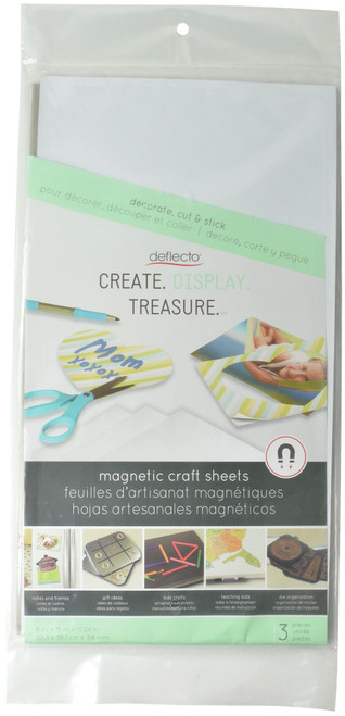 "Craft Magnetic Sheets 3/Pkg-8""X15"" -D5901 - 079916014760"