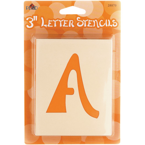 "Mailbox Letter Stencils-Swashbuckle 3"" -28MB-870 - 028995288708"