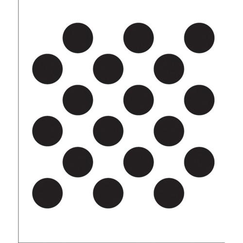 """FolkArt Painting Stencil 8.5""""X10""""-Polka Dot -FAPS-4375"""
