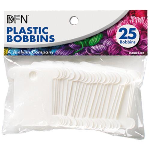 Janlynn Plastic Floss Bobbins-25/Pkg -3002-02 - 029064002027