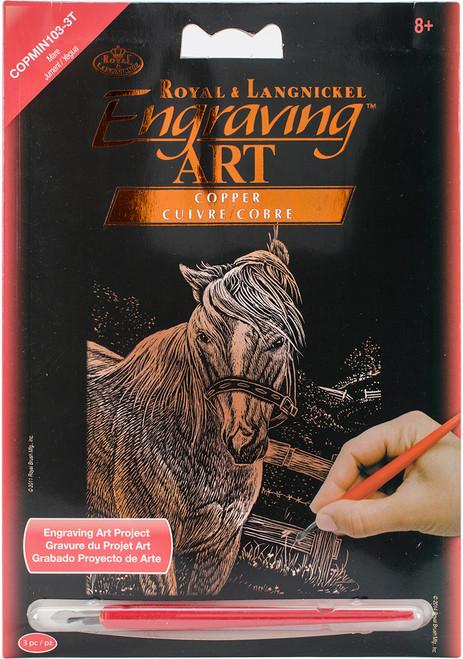 "Copper Foil Engraving Art Mini Kit 5""X7""-Mare -COPMIN-103 - 090672944078"