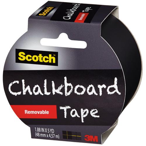 "Scotch Chalkboard Tape 1.88""X5yd-Black -1905R-CB"