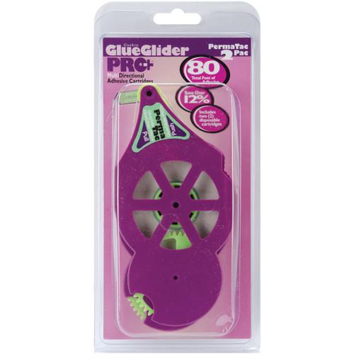 "GlueGlider Pro Plus Refill Cartridges 2/Pkg-Perma Tac .25""X40' Each -GPP03031 - 858275003031"