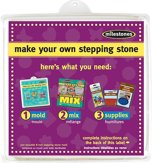 """Stepping Stone Mold-Square 8"""" -90723131 - 601950231317"""