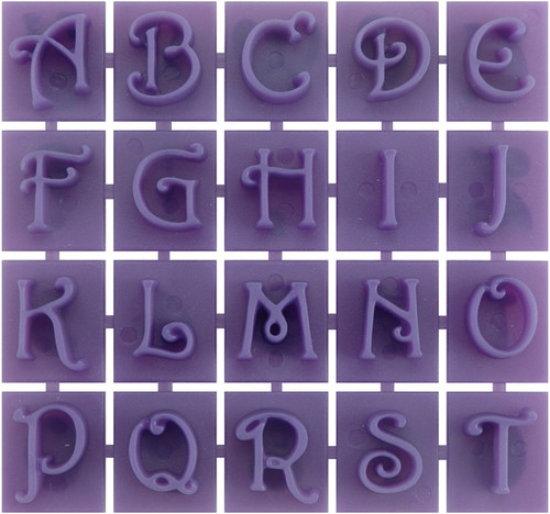 Stone Stamps-Victorian Style Letters & Numbers -905-20-511