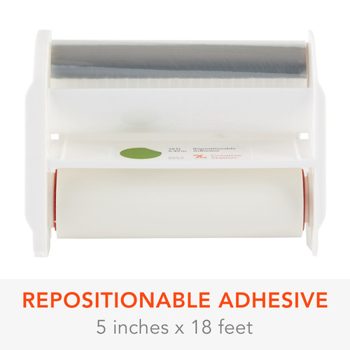 """Xyron 510 Adhesive Refill Cartridge-5""""X18' Repositionable -AT160618 - 608931000818"""