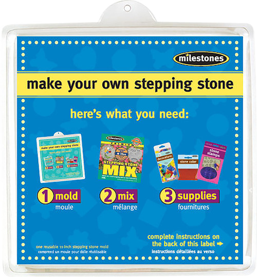 """Stepping Stone Mold-Square 11"""" -90723121 - 601950231218"""