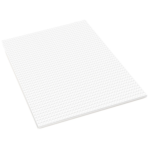 """MultiCraft 3D Pop Dots Dual-Adhesive Micro Foam Adhesives-White Round, .12"""" 1600/Pkg -PD100"""