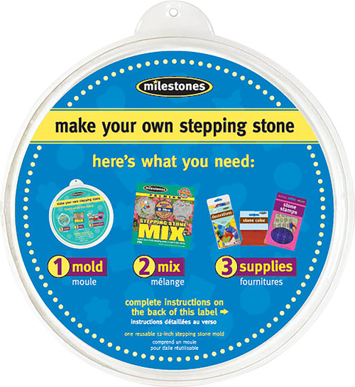 """Stepping Stone Mold-Round 12"""" -90723122 - 601950231225"""